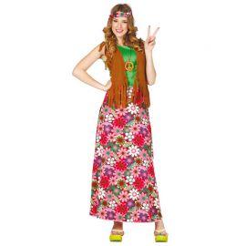 Disfraz de Hippie Feliz con Cinta para Mujer