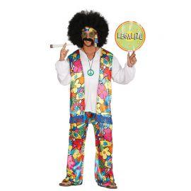 Disfraz de Hippie Psicodélico para Hombre