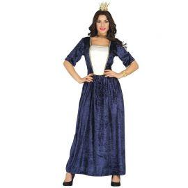 Disfraz de Dama Medieval para Mujer Elegante