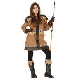 Disfraz de Esquimal para Mujer Cazadora