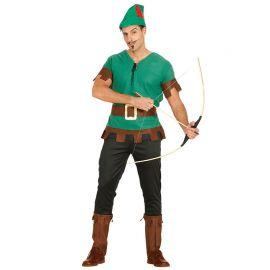 Disfraz de Arquero del Bosque para Hombre
