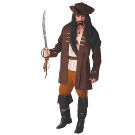 Disfraz de Capitán Pirata para Hombre con Cinturón