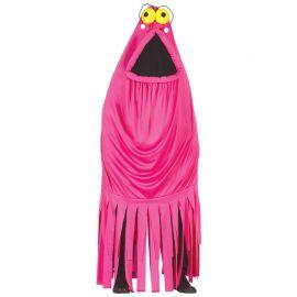 Disfraz de Monstruo para Hombre con Flecos Rosa