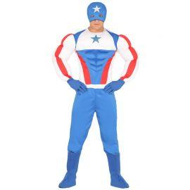 Disfraz de Súper Star para Hombre con Máscara
