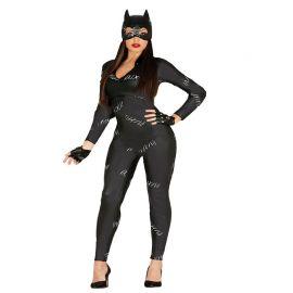 Disfraz de Catwoman para Mujer Mono Negro