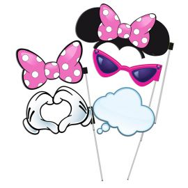 6 Accesorios Minnie Mouse Photocall