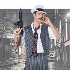 Disfraces de Gangster para Adultos