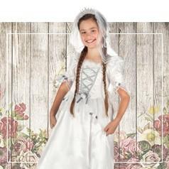 Disfraces de Novia Infantiles