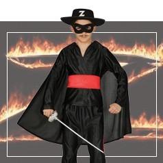 Disfraces de El Zorro Niño