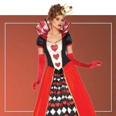 Disfraces de Reina de Corazones para Mujer