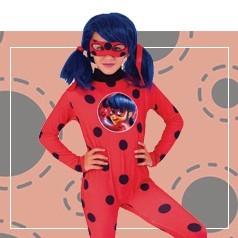 Disfraces de Ladybug Niña