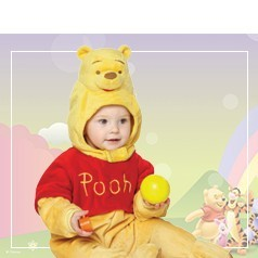 Disfraces de Winnie The Pooh Bebè