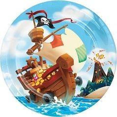 Cumpleaños Tesoro Pirata