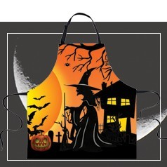Delantal Halloween
