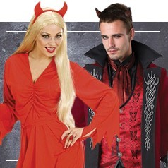 Disfraces de Diablo y Diabla