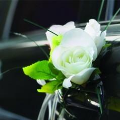 10 B Blesiya Lazo de Flores para Boda Decoraci/ón de Coche Carro de Boda Adornos