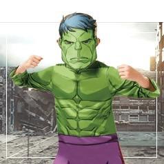 Disfraces de Hulk Niño