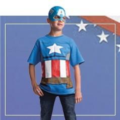 Disfraces de Capitan America Infantiles