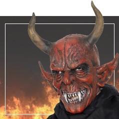 Máscaras de Demonio