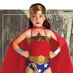 Disfraces de Wonder Woman Niña