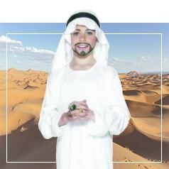 Disfraces Arabes para Niño