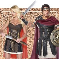 Disfraces de Romana y Romano