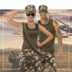 Disfraces de Militar