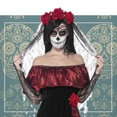 Disfraces Día de los Muertos Mujer