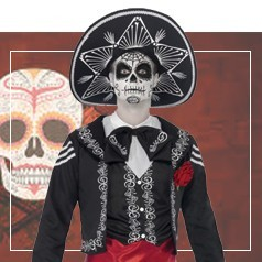 Disfraces Día de los Muertos Hombre
