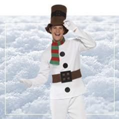 Disfraces Muñeco de Nieve Adultos