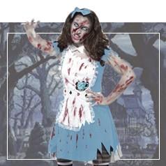 Disfraz Alicia al Pais Maravilloso Halloween
