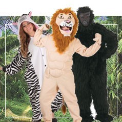 Disfraces de Animales de la Selva