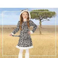 Disfraces de Leopardo Infantil