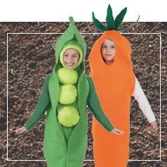 Disfraces de Verduras