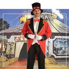 Disfraces de Presentador de Circo