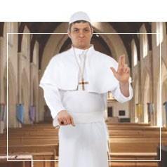 Disfraces del Papa