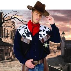 Disfraces del Oeste para Hombre