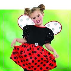 Disfraces de Mariquita para Niña