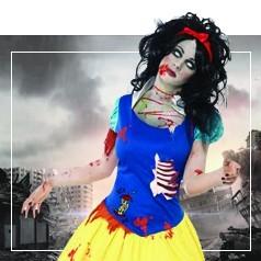 Disfraces de Princesa Zombie