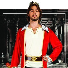 Disfraces de Rey para Hombre