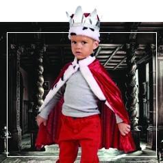Disfraces de Rey para Bebé