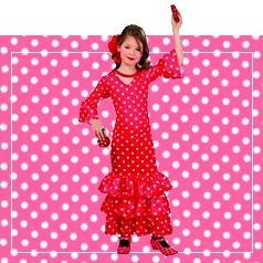 Disfraces de Flamenco Infantiles