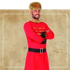 Disfraces de Ruso