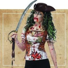 Disfraces de Pirata Zombie