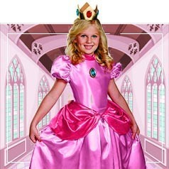 Disfraces de Princesa Peach