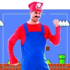 Disfraces de Mario Bros para Adulto
