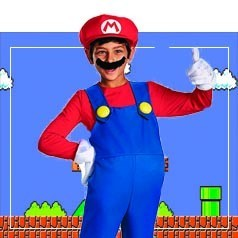 Disfraces de Mario Bros Infantiles