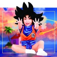 Disfraz de Goku para Bebé