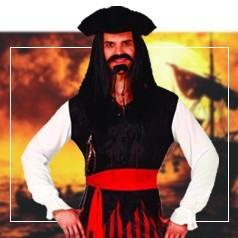 Disfraces de Pirata del Caribe para Adulto