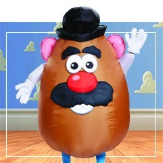 Disfraces de Señor potato